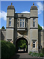 SK9226 : The Gate House, Easton Walled Gardens by Kate Jewell
