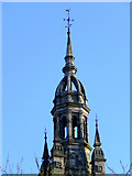 NS2776 : Former church tower by Thomas Nugent