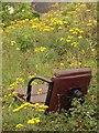 SX9164 : Discarded chair, Torquay by Derek Harper