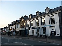SH5638 : Barclays Bank, Porthmadog, Gwynedd by Christine Matthews
