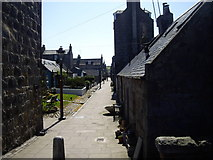 NJ9505 : Access to Footdee village by Stanley Howe