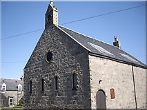 NJ9505 : North Square Mission Hall, Footdee by Stanley Howe