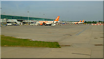 TL5523 : Stansted Airport by Thomas Nugent