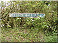 TG0424 : Keeling Hall Road sign by Adrian Cable
