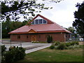 TG0324 : New Frost Hall, Foulsham Village Hall by Geographer