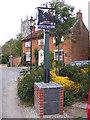 TG0325 : Foulsham Village Sign by Geographer