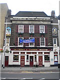 TQ3179 : The Crown & Cushion, Westminster Bridge Road SE1 by Robin Sones