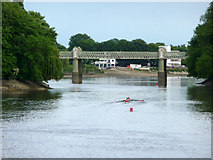 TQ1977 : River Thames at Kew by Christine Matthews