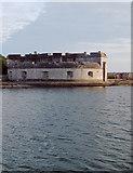 SY6874 : Portland Castle (1): from the harbour by Stefan Czapski