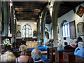 TL3706 : Interior of St Augustine's Church, Broxbourne, Hertfordshire by Christine Matthews