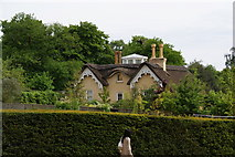 TQ1873 : House near King Henry's Mound, Richmond Park by Bill Boaden