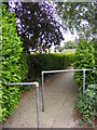 TM3055 : Path to Elm Road by Adrian Cable