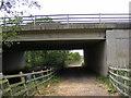 TM3156 : A12 Wickham Market Bypass Bridge by Adrian Cable