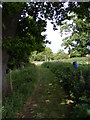 TM3057 : Bridleway to Easton Road by Adrian Cable