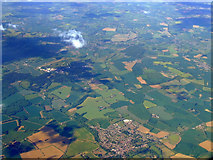 TL8422 : Coggleshall from the air by Thomas Nugent