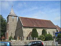 TQ5802 : Willingdon Church, Eastbourne by Julian P Guffogg