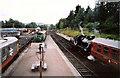 NH9418 : Boat of Garten station by Raymond Knapman