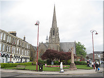 NS2982 : The West Kirk of Helensburgh by John Firth