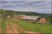 NZ7714 : America House Farm by Mick Garratt