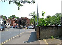 SO8554 : Junction of Sidbury and Commandery Road, Worcester by P L Chadwick