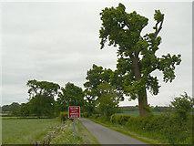 SP2760 : Wasperton Lane by Alan Murray-Rust