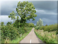 NU1825 : Country road near Preston (2) by Stephen Richards