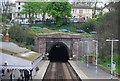 TQ8009 : Bo-Peep Tunnel, St Leonard's Warrior Square Station by N Chadwick
