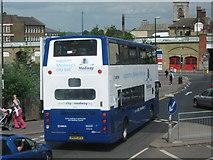 TQ7567 : Medway City Bus by David Anstiss