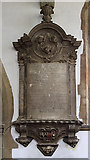 ST8026 : Henry Dirdoe monument - St Mary's Church, Gillingham by Mike Searle