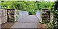 J4681 : Railway footbridge, Crawfordsburn by Albert Bridge