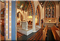 TQ2477 : St Thomas of Canterbury, Rylston Road, Fulham - Interior by John Salmon