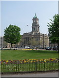 SJ3288 : Birkenhead: the Town Hall by Chris Downer