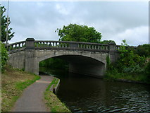 SD4867 : Bridge carrying the A6 over the Lancaster Canal by John Darch