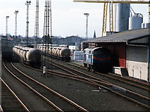 J3271 : Adelaide freight yard by The Carlisle Kid
