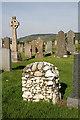 NM7616 : A graveyard at Balvicar by Walter Baxter