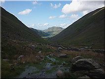 NY4008 : Boulders at Red Pit, Kirkstone Pass by Karl and Ali