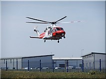 SY6874 : Osprey Quay helicopter base by Stefan Czapski