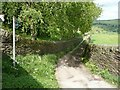 SE0327 : Bridleway off Thorney Lane, Midgley by Humphrey Bolton