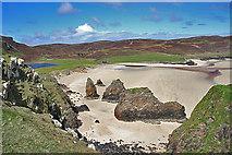 NB5349 : Tràigh Ghearadha (Garry Beach) by Anne Burgess