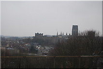 NZ2742 : Durham Castle and Cathedral by N Chadwick