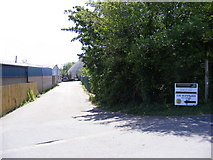 TM2850 : Footpath to the B1438 Melton Road by Adrian Cable
