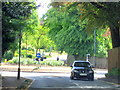 SP0484 : Harborne, Barlows Road Approaching Somerset Road/Metchley Park Road Island by Roy Hughes