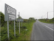 B8322 : R258 Road at Coshclady by Kenneth  Allen