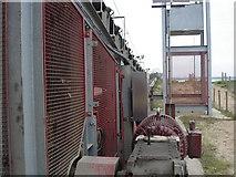 TQ7076 : Conveyor near Cliffe Fort by Ian Cunliffe
