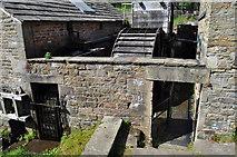 SK3281 : Abbeydale Industrial Hamlet - Waterwheels by Ashley Dace