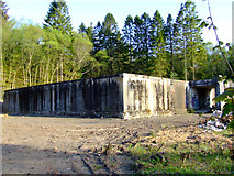NS2172 : Former Inverkip Anti Aircraft Operations Room by Thomas Nugent