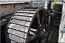 SK3281 : Abbeydale Industrial Hamlet - Waterwheel by Ashley Dace