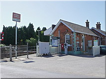 TQ0004 : Ford Railway Station, West Sussex by nick macneill