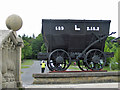 NZ2154 : Newcastle Chaldron, or 'black wagon', Beamish by Pauline E