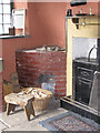 NZ2154 : Farm scullery, Beamish by Pauline E
